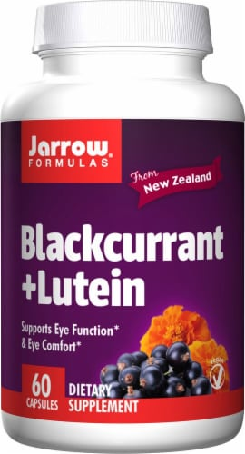 Jarrow Formulas  Blackcurrant Plus Lutein Perspective: front