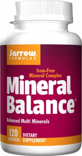 Jarrow Formulas  Mineral Balance® Perspective: front