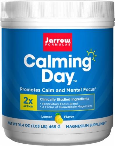 Jarrow Formulas Calming Day Lemon Magnesium Supplement Perspective: front