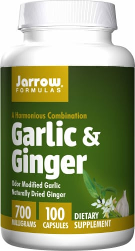 Jarrow Formulas  Garlic and Ginger Perspective: front