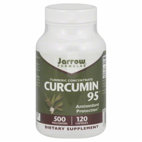 Jarrow Formulas Curcumin 95 Dietary Supplement 500mg Perspective: front