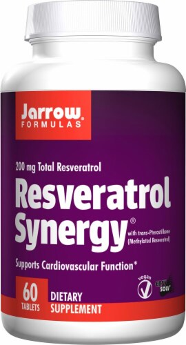 Jarrow Formulas  Resveratrol Synergy® Perspective: front