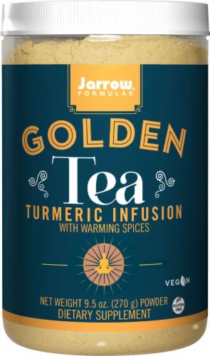 Jarrow Fomula's Golden Tea Dietary Supplement Perspective: front