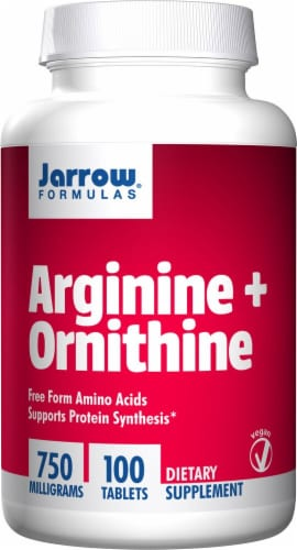 Jarrow Formulas  Arginine and Ornithine Perspective: front