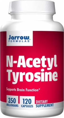 Jarrow Formulas N-Acetyl Tyrosine 350 mg Capsules Perspective: front