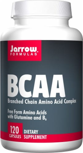 Jarrow Formulas BCAA Complex Capsules Perspective: front
