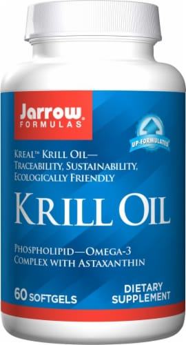 Jarrow Krill Oil Softgels Perspective: front