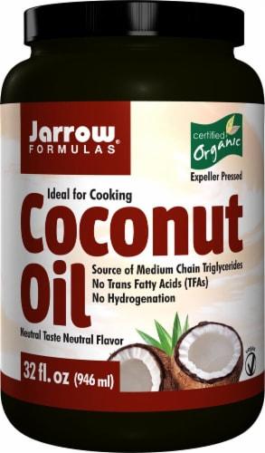 Jarrow Formulas  Organic Coconut Oil Perspective: front