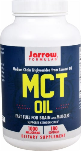 Jarrow Formulas  MCT Oil Perspective: front