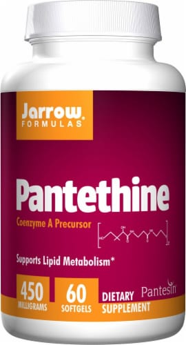 Jarrow Formulas  Pantethine Perspective: front