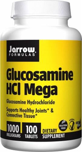 Jarrow Formulas Glucosamine HCl Mega Tablets 1000 mg Perspective: front
