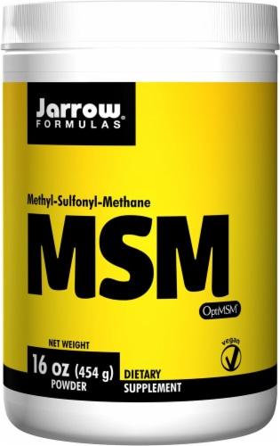 Jarrow Formulas  MSM Sulfur™ Powder Perspective: front