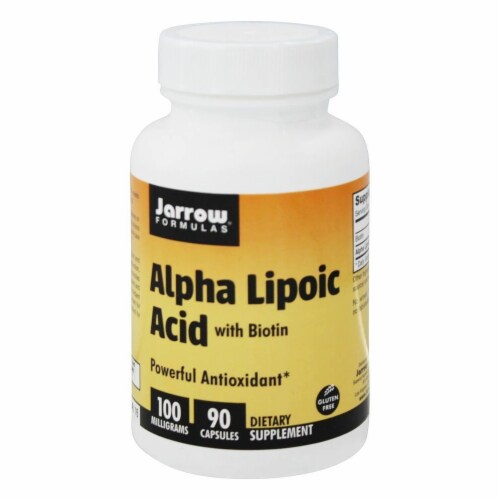Jarrow Formulas  Alpha Lipoic Acid Perspective: front