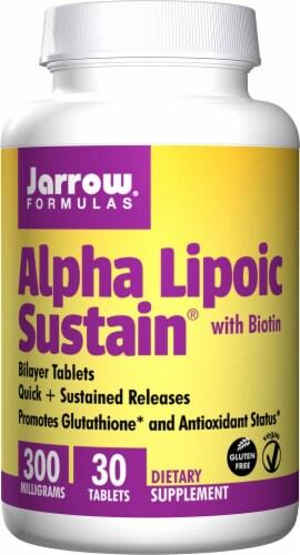 Jarrow Formulas  Alpha Lipoic Sustain® with Biotin Perspective: front