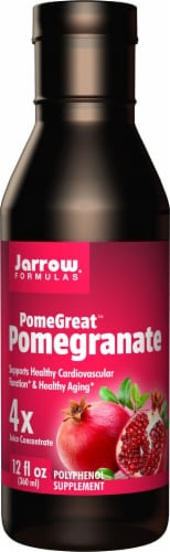 Jarrow Formulas  PomeGreat™ Pomegranate Juice Concentrate Perspective: front