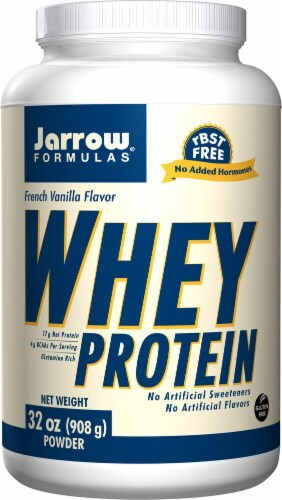 Jarrow Formulas  Whey Protein   French Vanilla Perspective: front