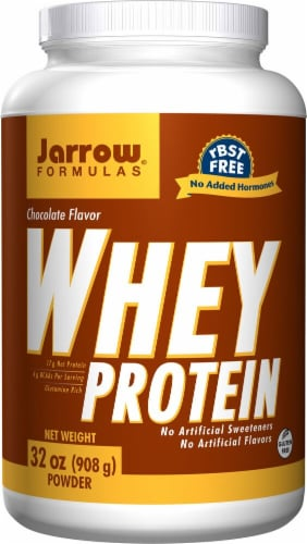 Jarrow Formulas  Whey Protein   Chocolate Perspective: front
