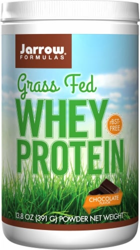 Jarrow Formulas  Grass Fed Whey Protein   Chocolate Perspective: front