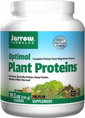 Jarrow Formulas  Optimal Plant Proteins™ Perspective: front