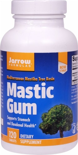 Jarrow Formulas  Mastic Gum Dietary Supplement Perspective: front