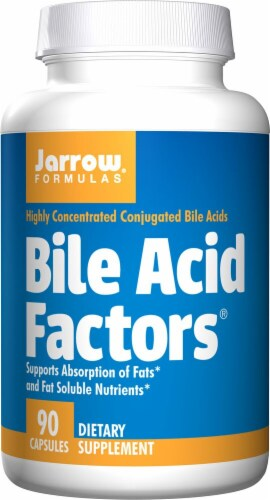 Jarrow Formulas  Bile Acid Factors™ Perspective: front