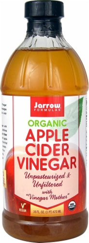 Jarrow Formulas  Organic Apple Cider Vinegar Perspective: front