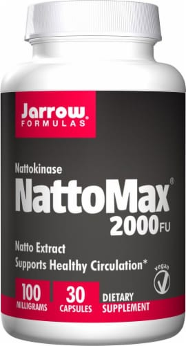 Jarrow Formulas  NattoMax® 2000 FU Perspective: front