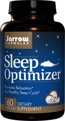 Jarrow Formulas Sleep Optimizer Supplement Capsules Perspective: front