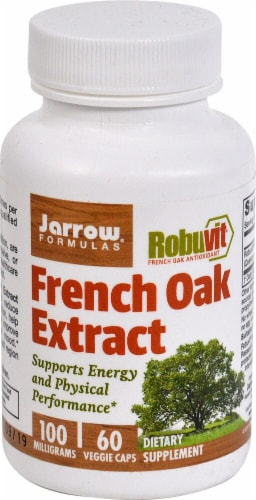 Jarrow Formulas  French Oak Extract Perspective: front