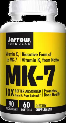 Jarrow MK-7 Softgels 60 Count Perspective: front