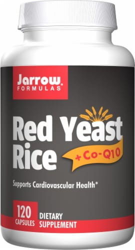 Jarrow Formulas Red Yeast Rice Capsules Perspective: front