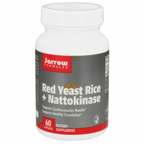 Jarrow Formulas  Red Yeast Rice + Nattokinase Perspective: front