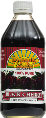 Dynamic Health Black Cherry Juice Concentrate Perspective: front