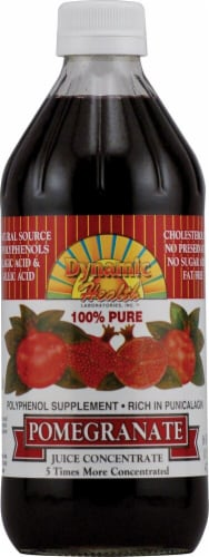 Dynamic Health 100% Pure Pomegranate Juice Concentrate Perspective: front