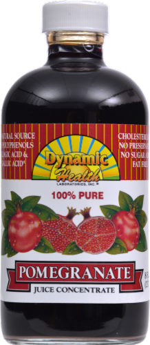 Dynamic Health Pomegranate Juice Concentrate Perspective: front