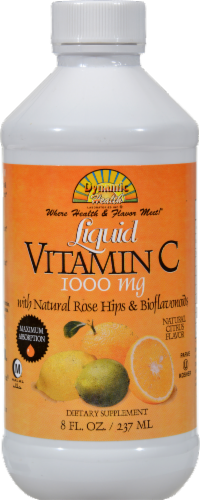 Dynamic Health Liquid Vitamin C 1000 mg Perspective: front