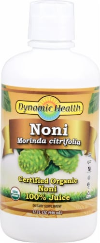Dynamic Health Organic Noni Juice Perspective: front