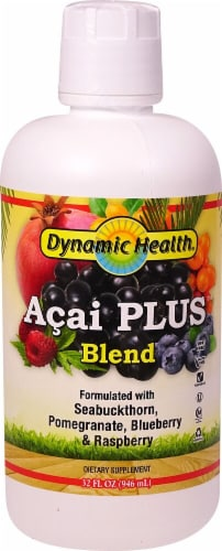 Dynamic Health Acai Plus Blend Perspective: front