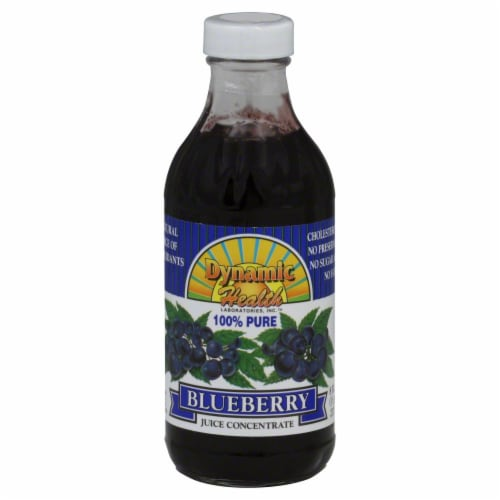 Dynamic Health Blueberry Juice Concentrate Perspective: front