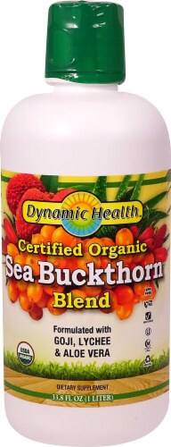 Dynamic Health Organic Sea Buckthorn Blend Perspective: front
