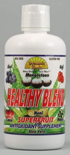 Dynamic Health Healthy Blend Noni Superfruit Antioxidant Supplement Perspective: front