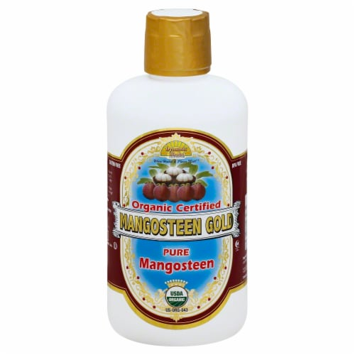 Dynamic Health Organic Pure Mangosteen Perspective: front