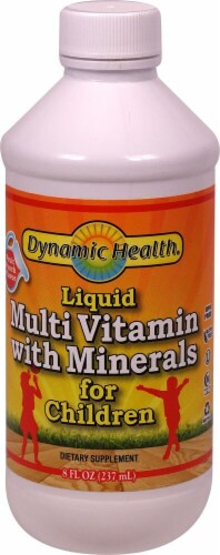 Dynamic Health  Liquid Multi Vitamin with Minerals for Children Perspective: front