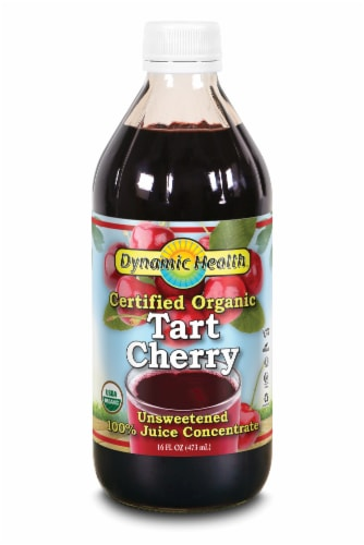 Dynamic Health Organic 100% Tart Cherry Juice Concentrate Perspective: front