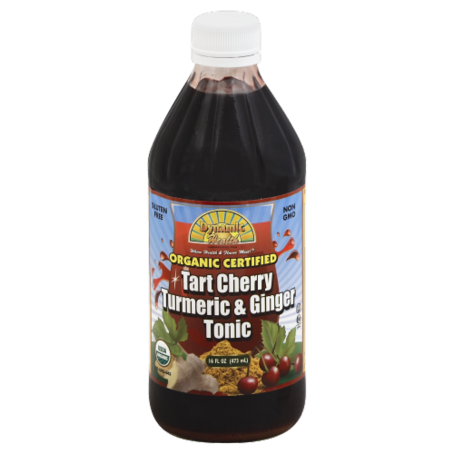 Dynamic Health Tart Cherry Turmeric & Ginger Tonic Perspective: front