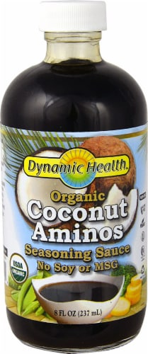 Dynamic Health  Organic Coconut Aminos Seasoning Sauce Perspective: front