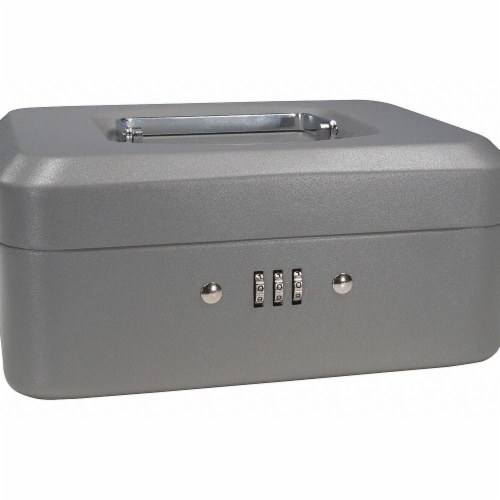 Barska Cash Box,Compartments 4,2-1/4 in. H  CB11784 Perspective: front