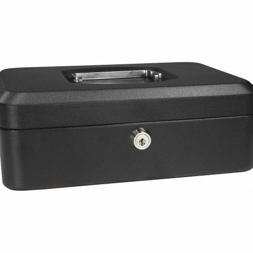 Barska Cash Box,Compartments 3,2-1/4 in. H  CB11830 Perspective: front
