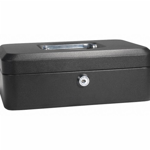 Barska Cash Box,Compartments 3,6-1/4 in. W Perspective: front