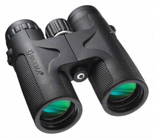 Barska Binocular, 10x, 315 ft. @ 1000 yd. Black/Gray  AB11843 Perspective: front